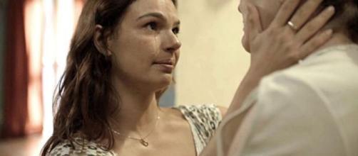 Betina desvendará os fatos sobre a morte do irmão em 'Amor de Mãe'. (Reprodução/TV Globo)