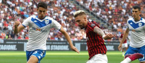 Brescia-Milan, nei rossoneri ancora fuori Suso.
