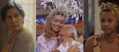 'Éramos Seis', 'Bom Sucesso' e 'Amor de Mãe' tiveram os seus melhores desempenhos em uma quarta-feira. (Reprodução/TV Globo)