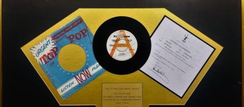 First Beatles release to get radio play up for sale Image credit: Supplied Tony Prince