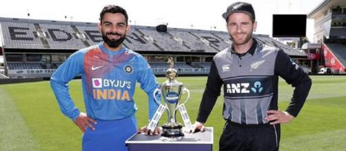 India vs NZ 1st T20 live on Hotstar (Image via BCCI/Twitter)
