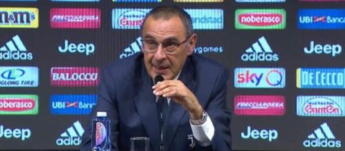 Juve, lavoro tattico per la sfida con il Napoli: Sarri potrebbe tornare al modulo 4-3-1-2