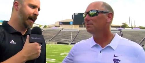 Nebraska is getting a new coach [Image via Kansas State Online/YouTube]