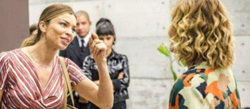 Paloma se dá bem, enquanto Eugênia, sua rival, toma uma lição. (Reprodução/TV Globo)