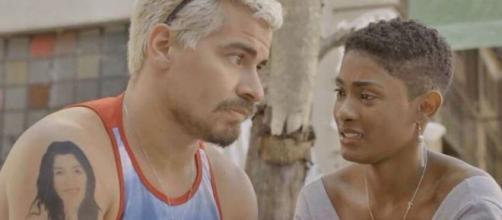 Ryan provoca fúria em Marina em 'Amor de Mãe'. (Reprodução/TV Globo)