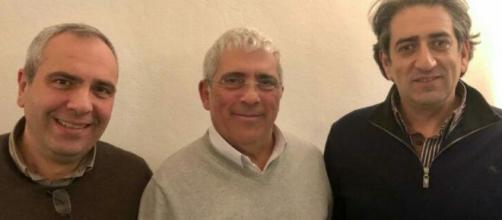 Uilpa e sigle sindacali - da sinistra Raffaele Del Giudice, Alfonso Farruggia e Fortunato Conti
