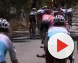 Caleb Ewan rischia la caduta nella quinta tappa del Tour Down Under