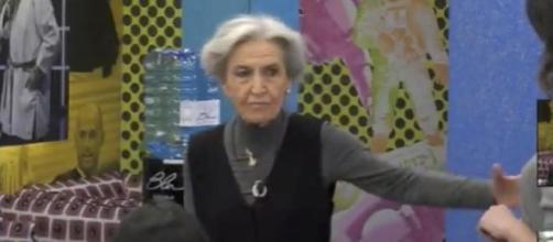 Barbara Alberti medita di lasciare il GF Vip