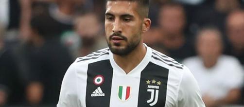 Emre Can, centrocampista della Juventus