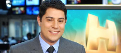 Evaristo Costa agora irá apresentar um programa semanal na CNN Brasil. (Arquivo Blasting News)