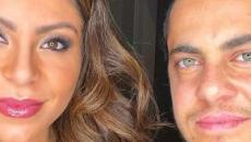 Andressa Ferreira posta fotos de ensaio com Thammy Miranda e Bento: 'meus dois amores'