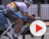 Il Campione del Mondo Mads Pedersen impegnato al Tour Down Under