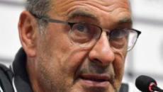 Maurizio Sarri: 'Rigori? Probabilmente è il momento di rifare le maglie a strisce'