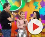 Faustão emociona Maiara e Maraisa em 'Arquivo Confidencial'. (Reprodução/TV Globo)