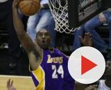 Kobe Bryant in azione in LA Lakers-Washington Wizards del 5 dicembre 2008.