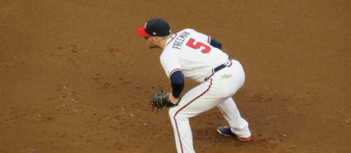 Freddie Freeman is a four-time All-Star. [Image Source: Flickr | Bryan Green]