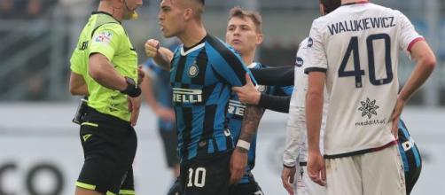 Inter, per Lautaro sarebbe in arrivo una multa dalla società