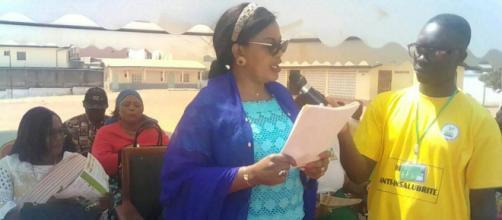 Lancement officiel de l'ACAHIJEC ce 25 janvier 2020 à l'école publique de Mfandena 2 (c) Odile Pahai