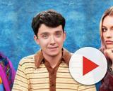 Na foto o trio de protagonistas de 'Sex Education' da Netflix (Foto: Arquivo Blastingnews)