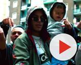 Sfera Ebbasta nel video di 'Ciny', girato a Cinisello Balsamo.