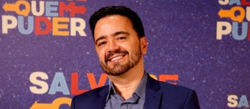 O autor de 'Salve-se Quem Puder', Daniel Ortiz, no evento de lançamento de 'Salve-se Quem Puder' . (Reprodução/Gshow)