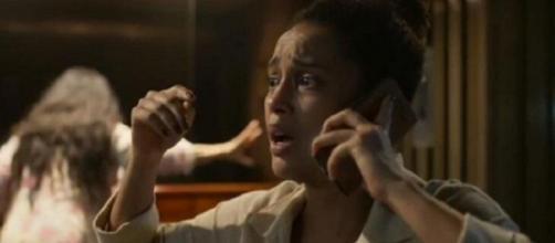 Vitória vai dar uma guinada em sua vida em 'Amor de Mãe'. (Reprodução/TV Globo)