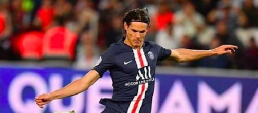 Edinson Cavani joue pour le PSG. Credit: Instagram/cavaniofficial21