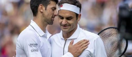 Federer et Djokovic se retrouvent en demi-finale de l'Open d'Australie (Credit : Twitter Sicka Sport)
