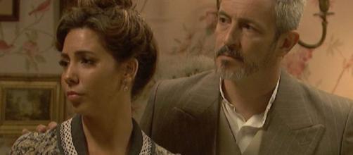 Il Segreto, spoiler spagnoli: Emilia e il marito ritornano per proteggere i propri cari