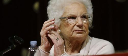 La senatrice a vita sopravvissuta all'Olocausto Liliana Segre