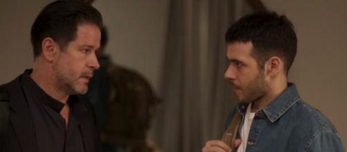 Vinicius se despede de 'Amor de Mãe' nesta semana. (Reprodução/TV Globo)