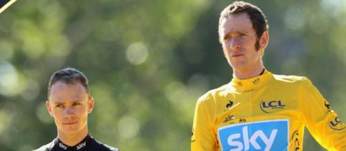 Froome e Wiggins sul podio del Tour 2012