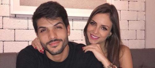 Lucas e Ana Lúcia se casaram após sete anos juntos. (Arquivo Blasting News)