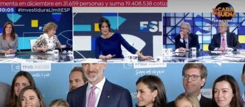 """Risas en """"Espejo público"""" por culpa de un dato sobre la reina Letizia"""