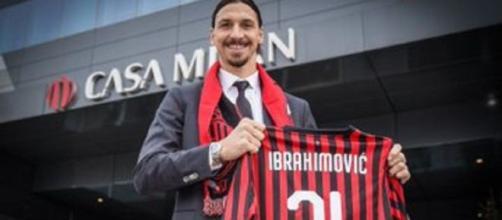 Zlatan revient au Milan AC (Credit : Twitter AC Milan)