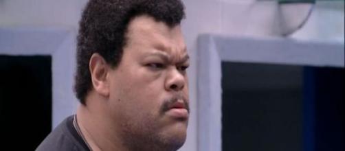 Babu Santana se irritou e bateu boca no 'BBB20' . (Reprodução/TV Globo)