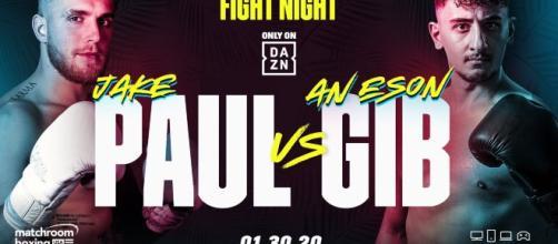 Boxe: Jake Paul vs Gib a Miami, streaming su DAZN