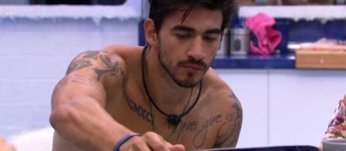 Guilherme na Cozinha VIP do 'BBB20'. (Reprodução/Globoplay)