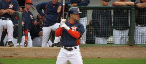 Jose Altuve is a three-time AL batting champ. [Image Source: Flickr | Bryan Green]