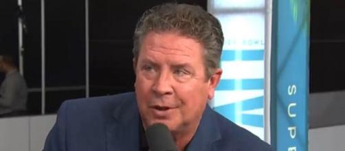 Marino spent all of his 17 NFL seasons with the Dolphins (Image Credit: NBC Sports/YouTube)