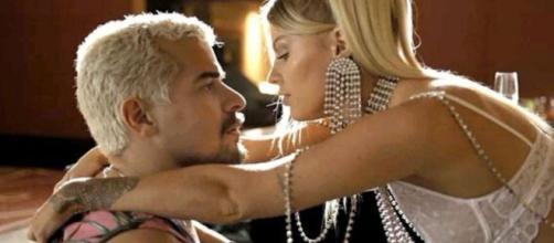 Mel e Ryan se conhecem em 'Amor de Mãe'. (Reprodução/TV Globo)