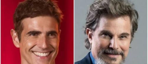 Reynaldo Gianecchini e Edson Celulari também serão dispensados da Rede Globo. (Fotomontagem)