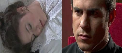 Una Vita, anticipazion: Lucia ha un incidente, Guillermo deluso da Telmo