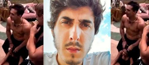 'BBB20': O youtuber se pronunciou após web repercutir atitude de Petrix. (Globo/ Instagram/@fecastanhari)