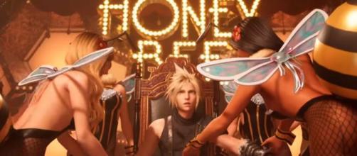 Cloud en el Honey Bee en el nuevo tráiler de 'Final Fantasy VII Remake'. Youtube