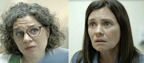 Em 'Amor de Mãe', Jane revela segredo de Thelma sobre Danilo. (Reprodução/TV Globo)