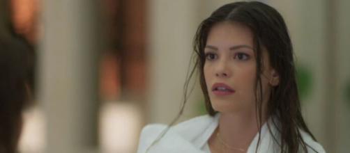 Kyra ficará sem chão em 'Salve-se Quem Puder'. (Reprodução/TV Globo)