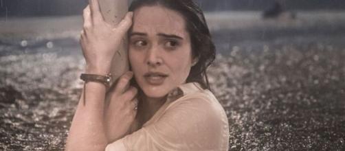 Luna durante o furacão de 'Salve-se Quem Puder': novela da Globo começou bem no Ibope. (Reprodução/TV Globo)