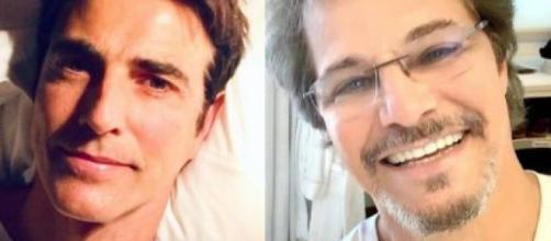 Reynaldo Gianecchini e Edson Celulari serão dispensados da Rede Globo. (Fotomontagem)