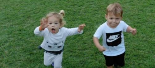 Los hijos de Enrique Iglesias e Anna Kournikova. (Reproducción/Instagram/@annakournikova)
